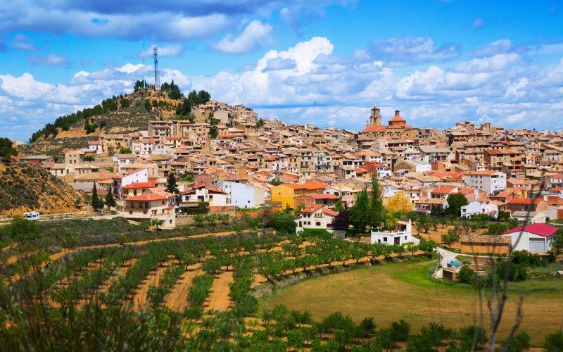 Calaceite se distingue par ses rues et ses maisons en pierre