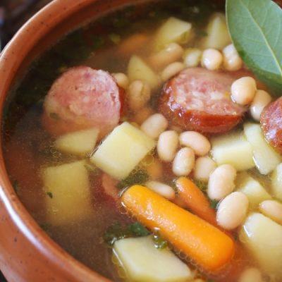 Recette de bouillon galicien