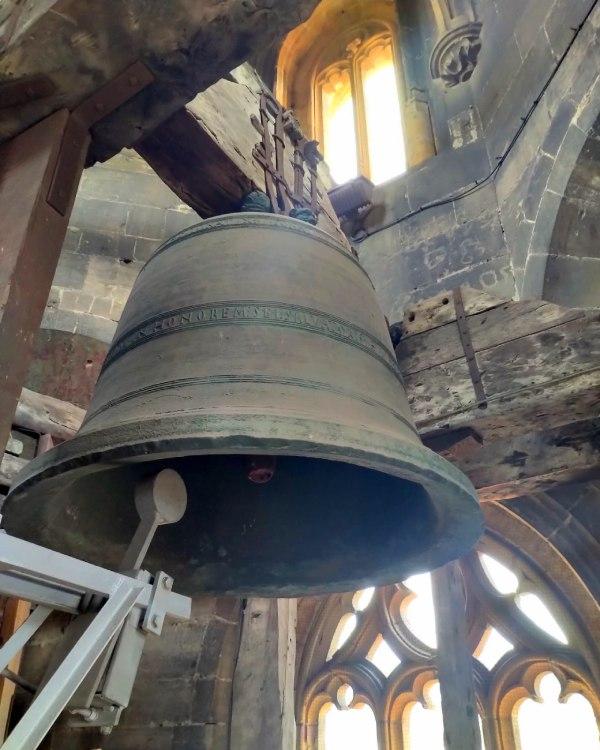 La cloche de la cathédrale d'Oviedo est la plus ancienne d'Espagne