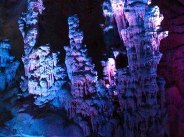 Grottes du Canelobre de Busot, une authentique cathédrale de roche calcaire