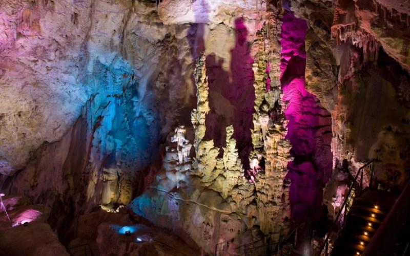Sagrada Familia dans les grottes