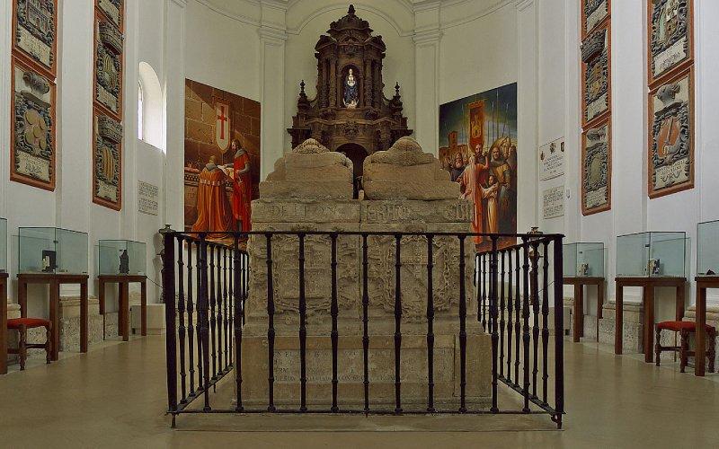 Chapelle du Cid à San Pedro de Cardeña
