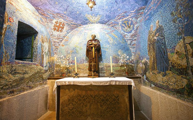 Chapelle avec mosaïques