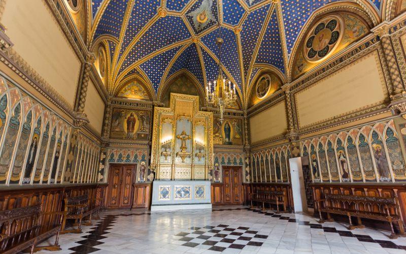 Chapelle néo-gothique du palais ducal de Gandía