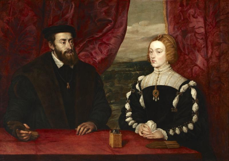 Charles Quint et l'impératrice Élisabeth, Pierre Paul Rubens, 1628