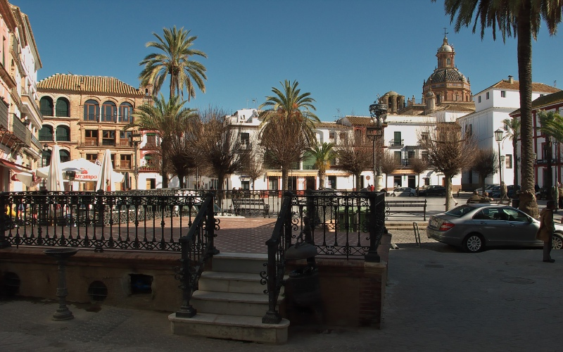 Place de San Fernando à Carmona