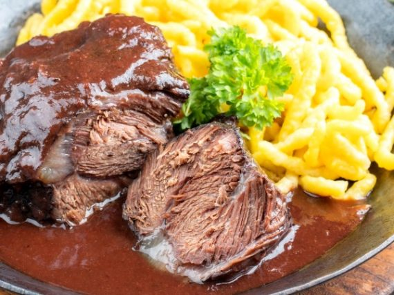 Joues de bœuf au vin rouge, dans la plus pure tradition