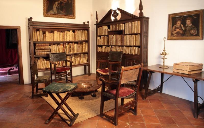 L'atelier de la maison-musée Lope de Vega