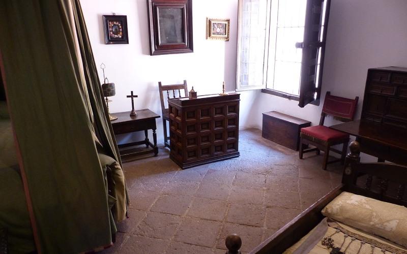 Chambre de la maison-musée Lope de Vega