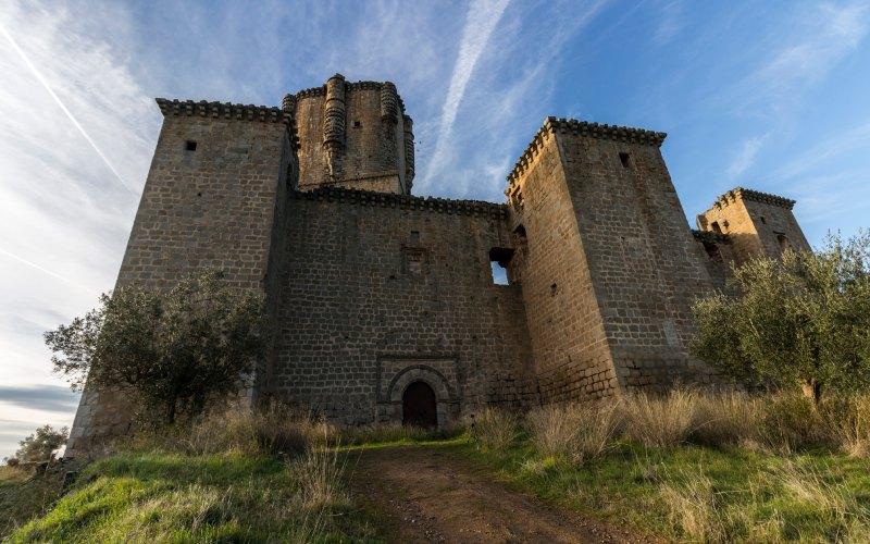 Entrée du château de Belalcázar