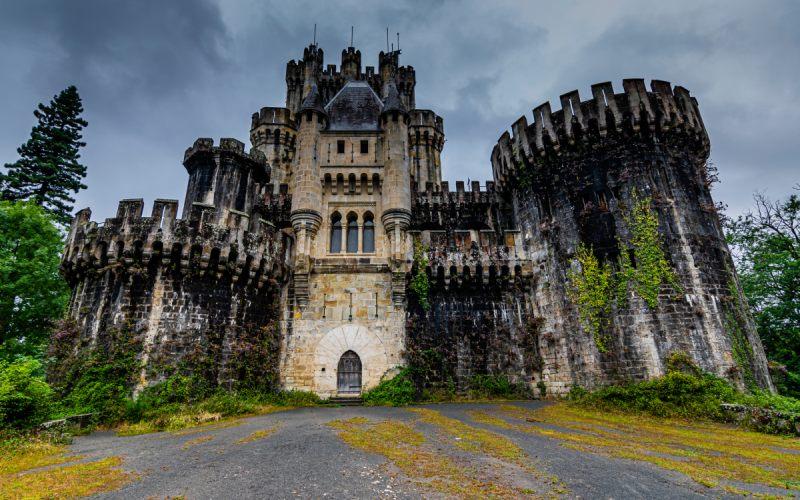 Château de Butrón, digne d'un conte de fées