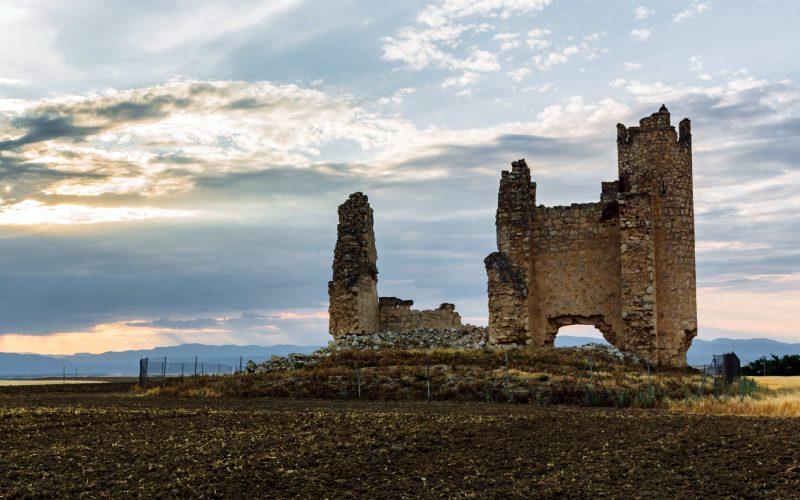 Ruines du château de Caudilla