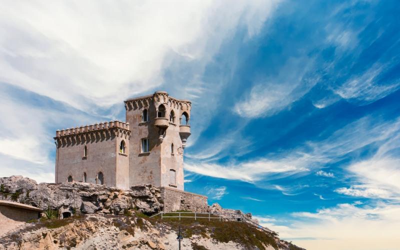 Le château de Santa Catalina devait être un phare