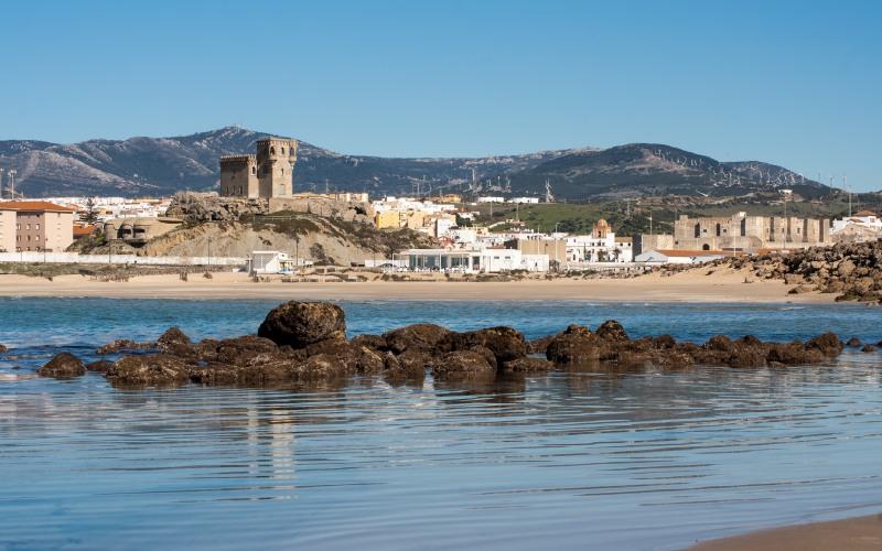 Le château de Santa Catalina fait partie du paysage de Tarifa