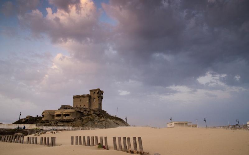 Vue du château de Santa Catalina
