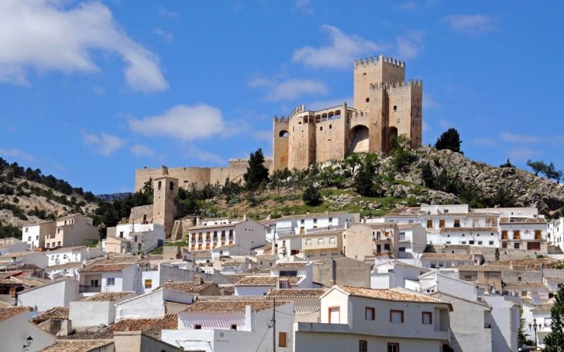 Vue panoramique du château de Vélez-Blanco