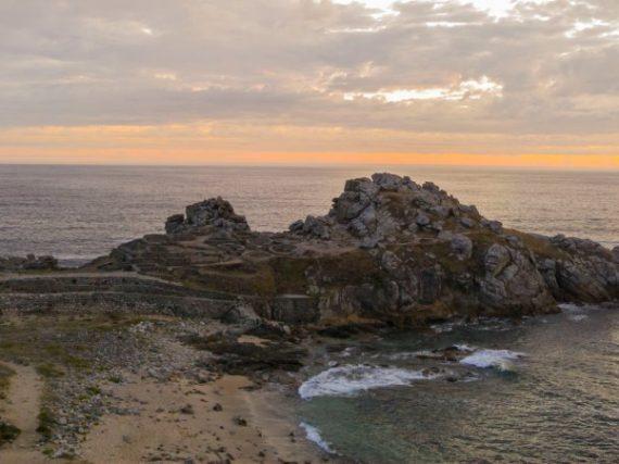 Le Castro de Baroña, une fortification celte millénaire qui s'avance dans la mer