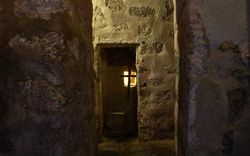 Cellule de San Pedro de Alcántara dans le Couvent du Palancar