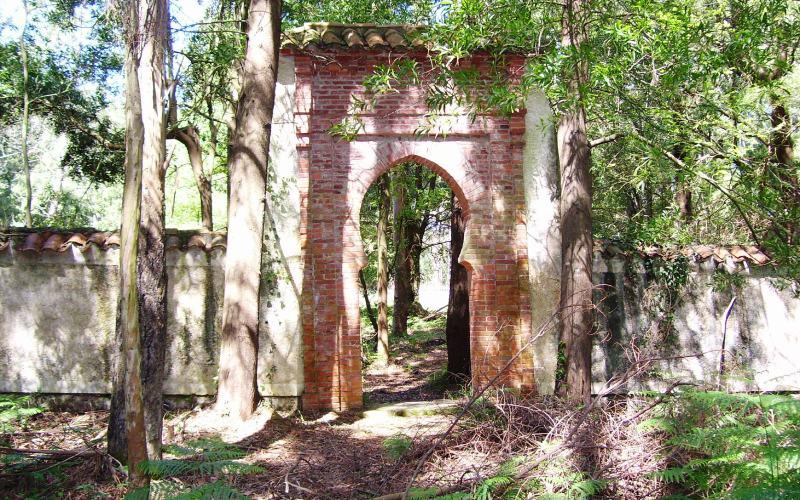 Entrée du cimetière Moro