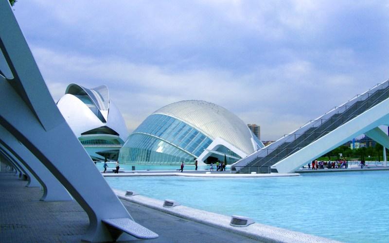 La Cité des arts et des sciences de Valence