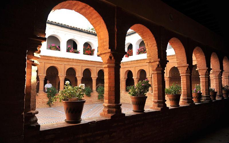 Colomb a trouvé un soutien à l'intérieur du monastère de La Rábida
