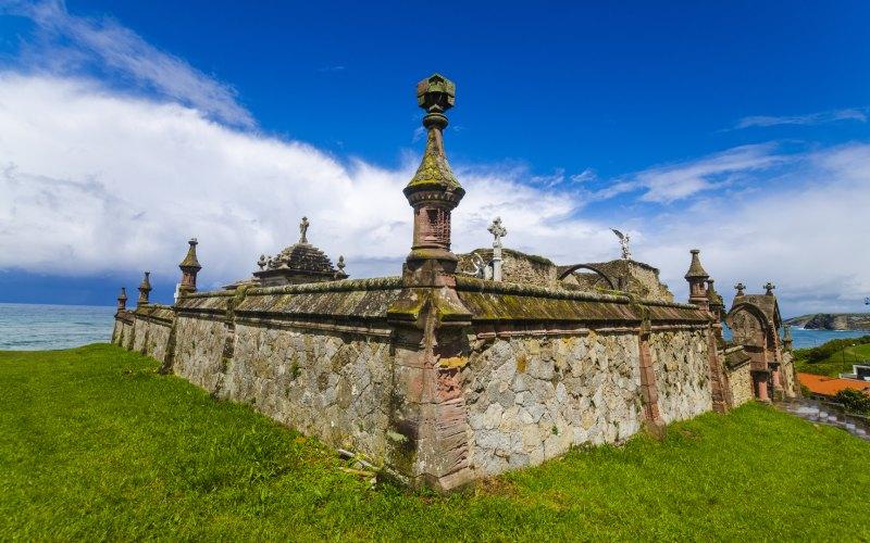 Mur du périmètre du cimetière