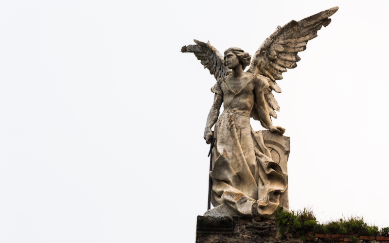 L'ange exterminateur par Llimona