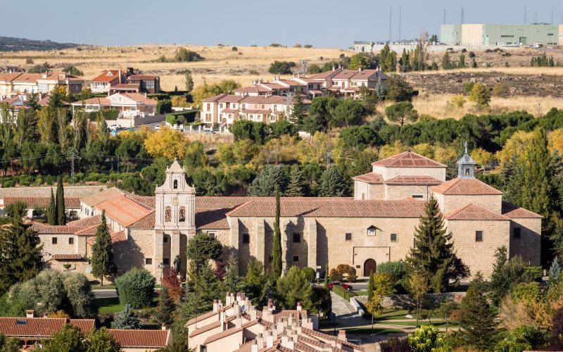 L'ancien cimetière juif d'Ávila se trouvait sur le site actuel du Couvent de l'Incarnation