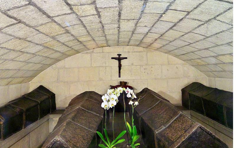 Cercueils des Rois Catholiques dans la Chapelle Royale de Grenade