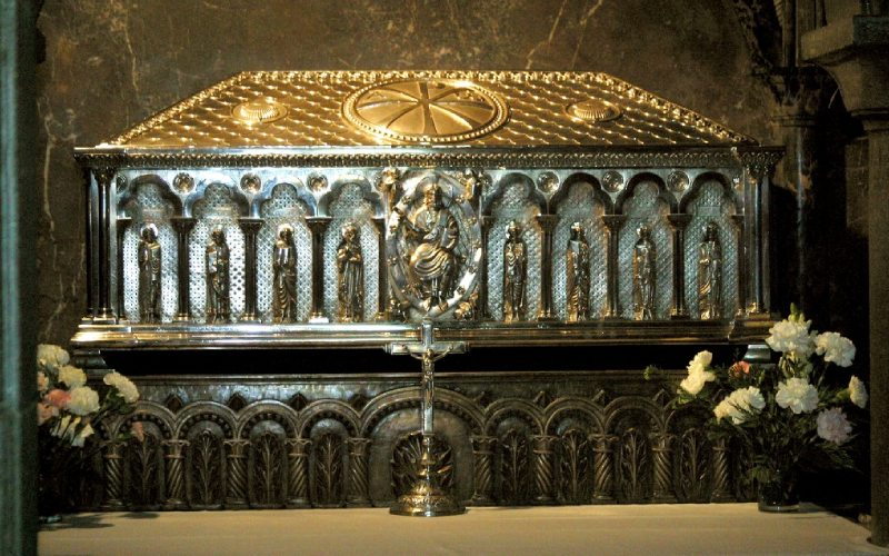 Urne avec les restes de l'Apôtre Saint-Jacques