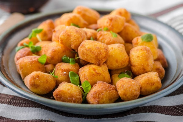 Croquettes au fromage de Cabrales