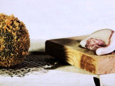 Croquettes de chipirons à l'encre, une version surprenante