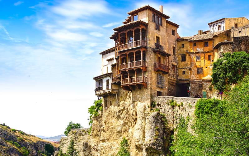 Maisons suspendues à Cuenca