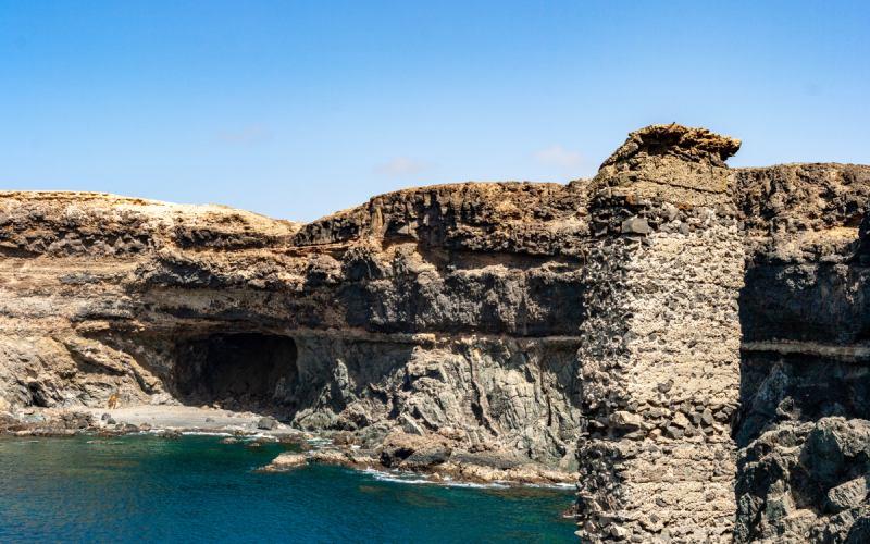 Monument naturel des grottes d'Ajuy