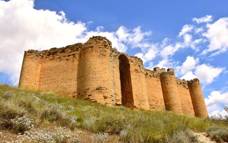 Murs du château de Davalillo