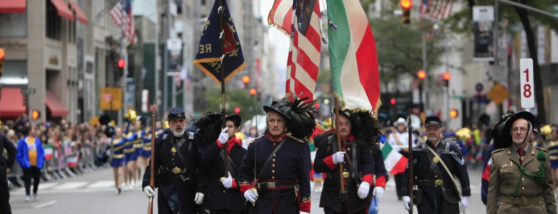 Défilé du Columbus Day sur la Cinquième Avenue