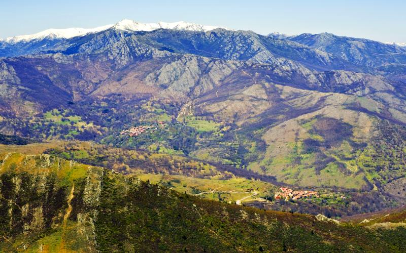 El Cardoso de la Sierra et La Hiruela