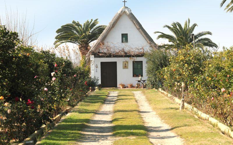 Petite maison de campagne typique à La Albufera