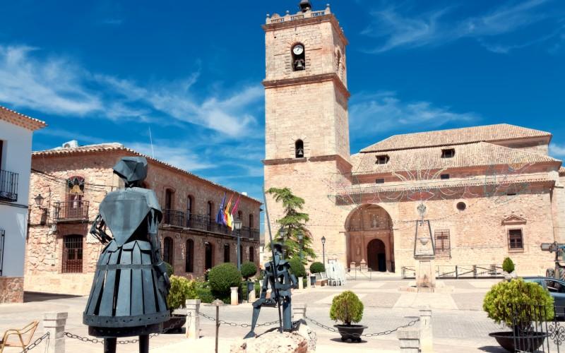 Sculptures de Don Quichotte et Dulcinée, El Toboso