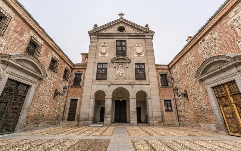 Cour de l'entrée principale