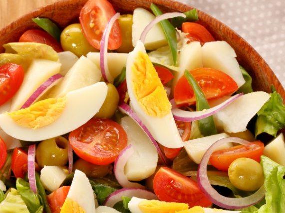 Salade mixte traditionnelle, une recette de toujours