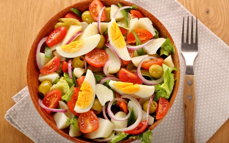 Recette de salade mixte traditionnelle