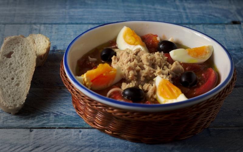 La salade la plus traditionnelle de Murcie
