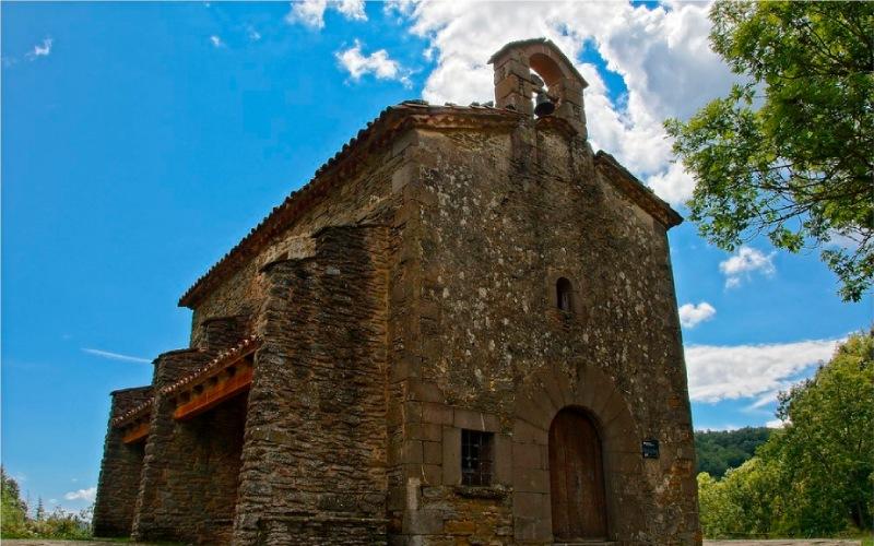 Église Santa Magdalena à Rupit