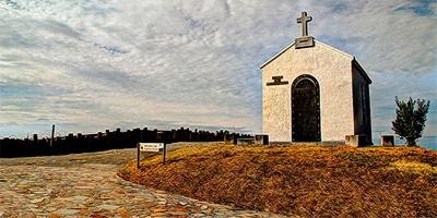 Ermita y Mirador del Espiritu Santo muros nalon
