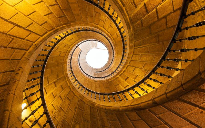 Escalier hélicoïdal de Saint-Domingue de Bonaval