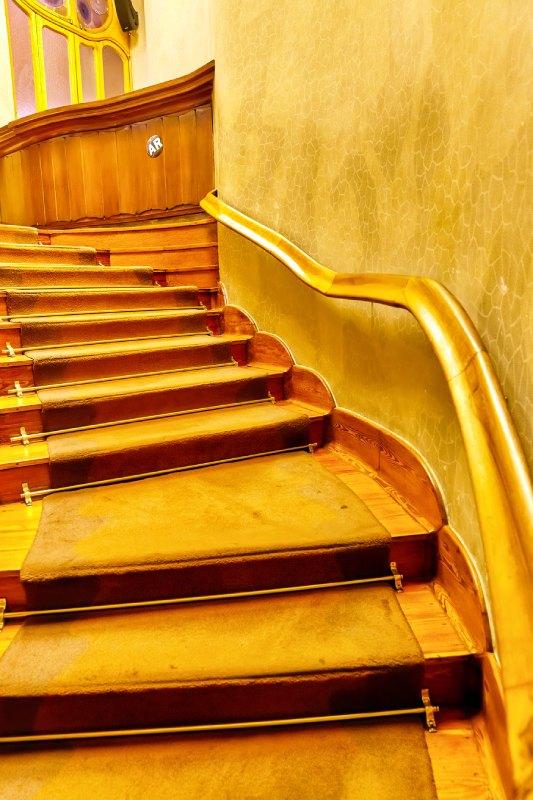 Escaliers de la maison Batlló
