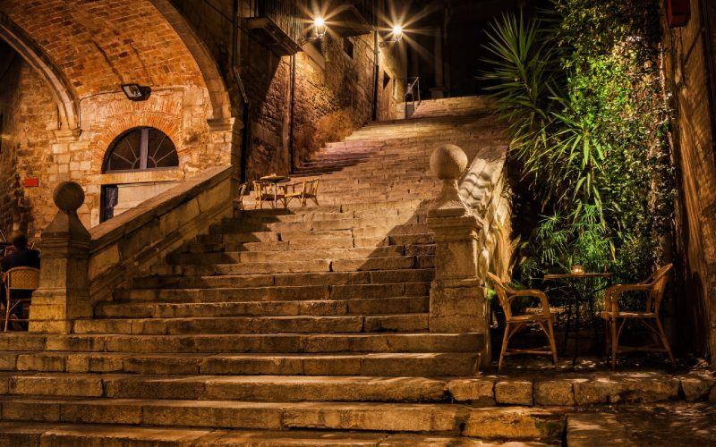 Escalera Pujada de Sant Domenec