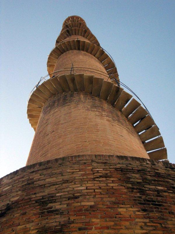 Escalier de la cheminée de la Bòbila