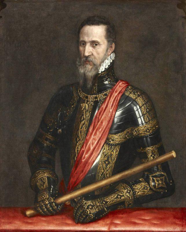 Le Grand-Duc d'Albe par Antonio Moro